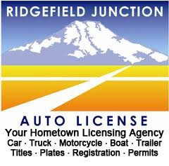 Ridgefield Junction Auto License