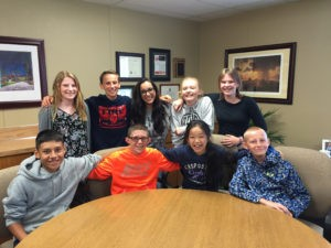 Members of Ridgefield's Superintendent's Student Advisory Council.